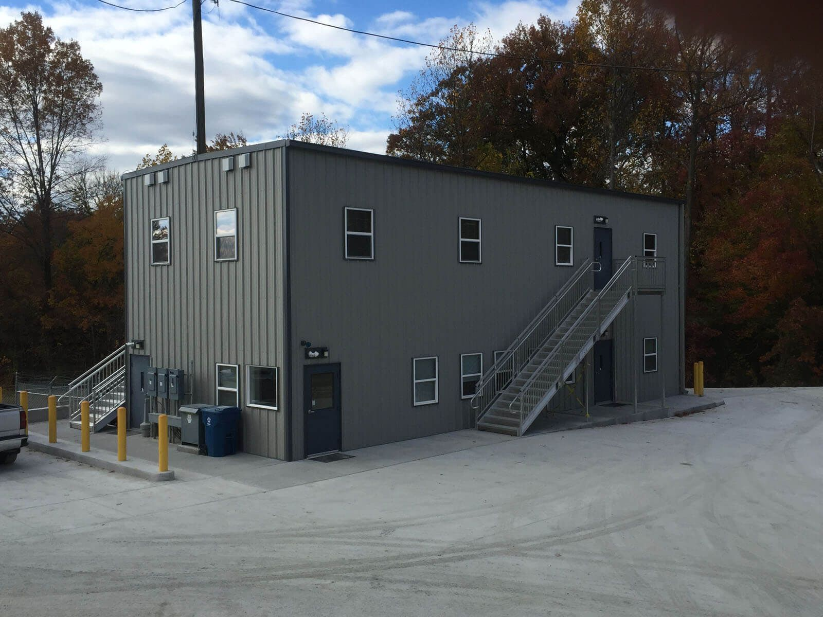 Two Story Dispatch Office A Modular Building Case Study