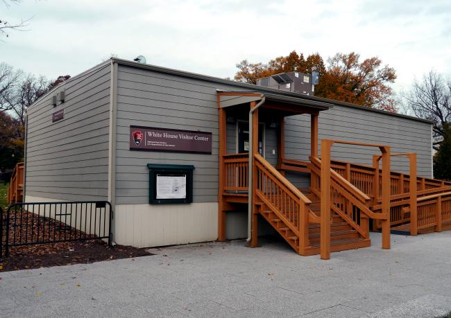 President's Park Temporary Visitors Center | A Modular
